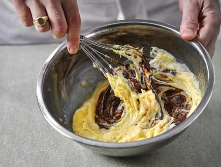 מילקי ביתי - קרם פטיסייר ושוקולד