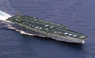 נושאת המטוסים ג'ראלד פורד (צילום: הצי האמריקאי)