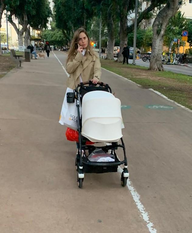 אדווה דדון אחרי לידה, פברואר 2020