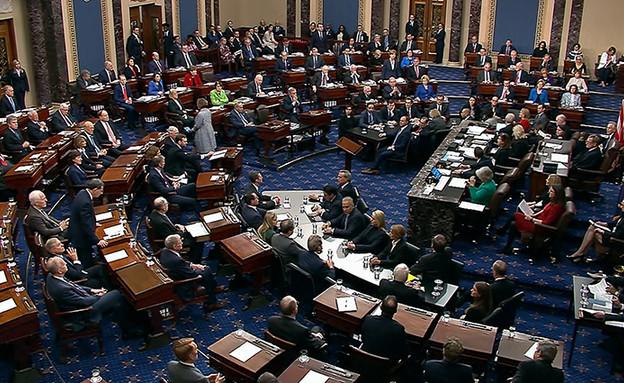 ההצבעה בסנאט האמריקני, אמש