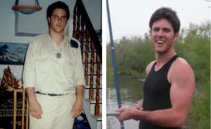 """ד""""ר צור לפני ואחרי (צילום: צילום פרטי)"""