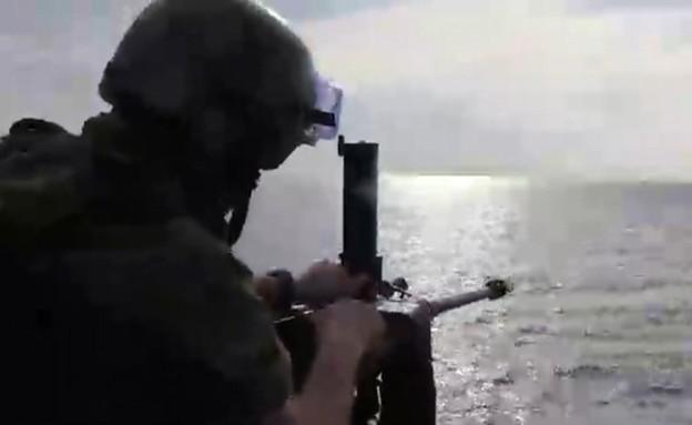 חיל הים מתרגל מוכנות למערכה בצפון