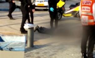 זירת רצח בפארק וולפסון בתל אביב