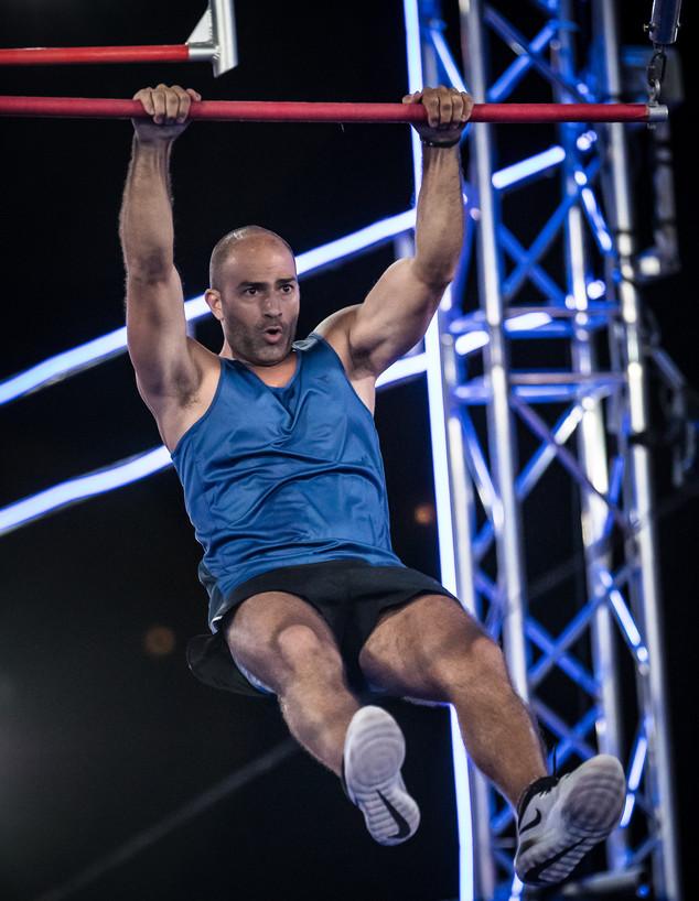 דודו כהן בנינג'ה ישראל VIP (צילום: עודד קרני)