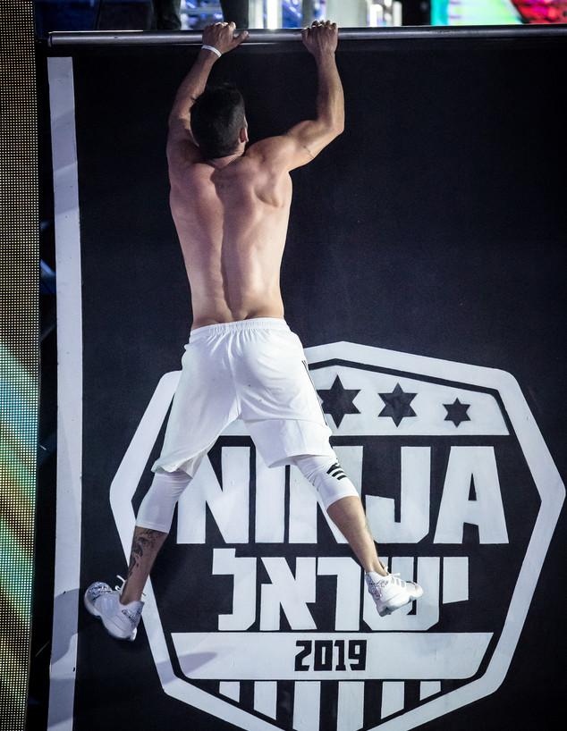 דין מירושניקוב בנינג'ה ישראל VIP (צילום: עודד קרני)