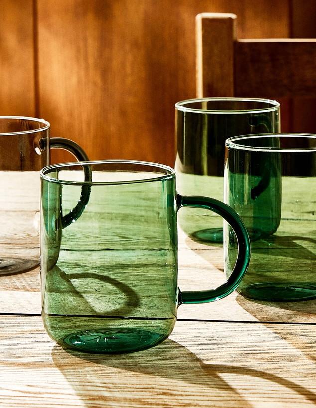 זארה הום אביב 2020, ג, כוס זכוכית ירוקה, 35.90 שקל ליחידה