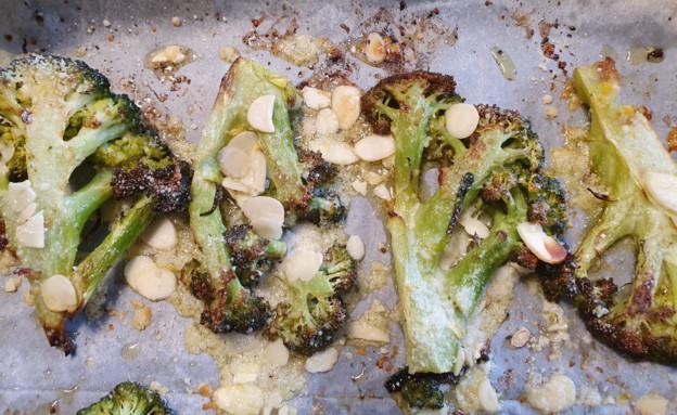 ברוקולי צלוי (צילום: דנה בר-אל שוורץ, אוכל טוב)