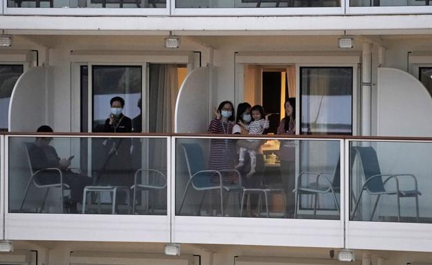 """""""ספינת הקורונה"""" (צילום: AP)"""