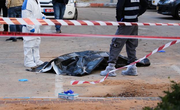 זירת רצח, ארכיון (צילום: Flash90)