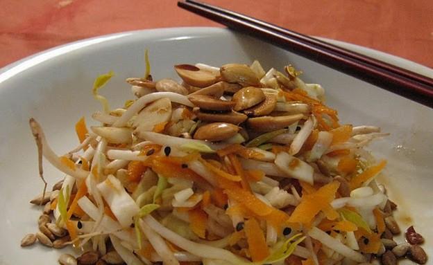 סלט כרוב סיני (צילום: תומר פרת)