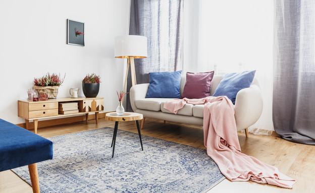 ניקוי שטיחים, סלון (צילום: Photographee.eu, Shutterstock)