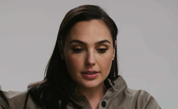 """הפאדיחה של גל גדות בראיון  (צילום: מתוך """"ערב טוב עם גיא פינס"""", קשת 12)"""