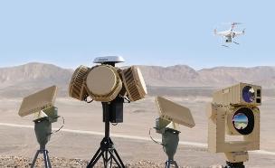 מערכת לייזר של רפאל שמיירטת רחפנים (צילום: רפאל מערכות לחימה)