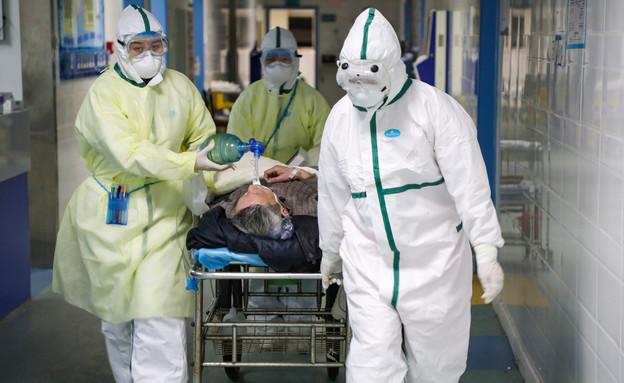 קורונה בבית חולים  (צילום: reuters)