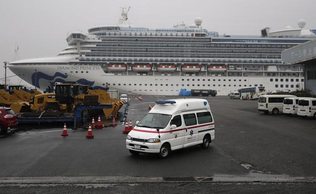 ספינת הקורונה (צילום: Sakchai Lalit | AP)