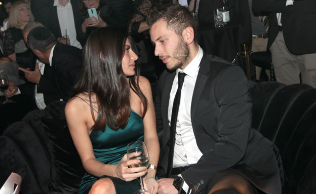 אבנר נתניהו ובת הזוג, פברואר 2020