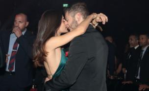 אבנר נתניהו ובת הזוג, פברואר 2020 (צילום: ענת מוסברג)