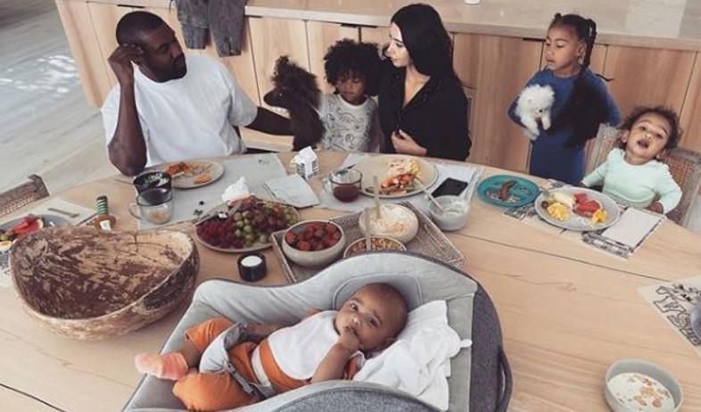 חדר הילדים של קים קרדשיאן וקניה וסט (צילום: אינסטגרם kimkardashian)