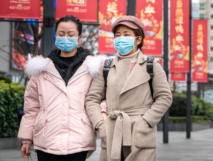 נגיף הקורונה בסין (צילום: IHOR SULYATYTSKYY, shutterstock)
