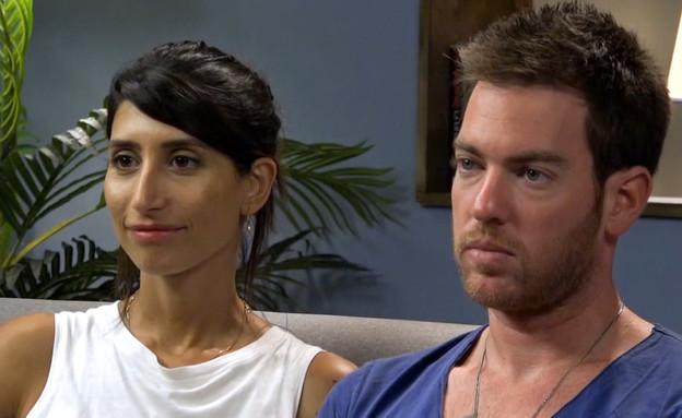 """איך שרונה וליאור התמודדו עם המשימה של יעל? (צילום: מתוך """"חתונה ממבט ראשון 2"""", שידורי קשת)"""