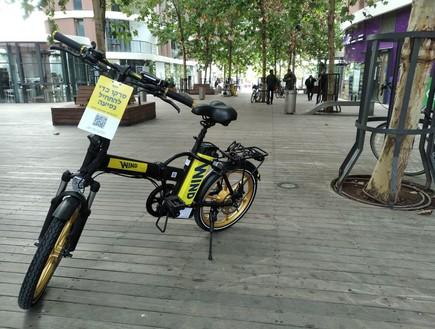"""האופניים החשמליים של Wind (צילום: יח""""צ)"""