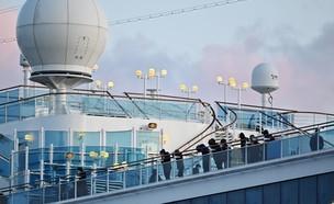 ספינת הקורונה (צילום:  CHARLY TRIBALLEAU, AFP)