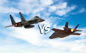 הקרב על מטוס הקרב (עיצוב: רויטרס, 123rf)