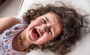 ילדה בהתקף זעם (צילום: Leon Rafael, shutterstock)