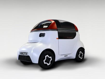 מכונית אוטונומית זעירה לשימוש עירוני (צילום: מערכת אוטו)