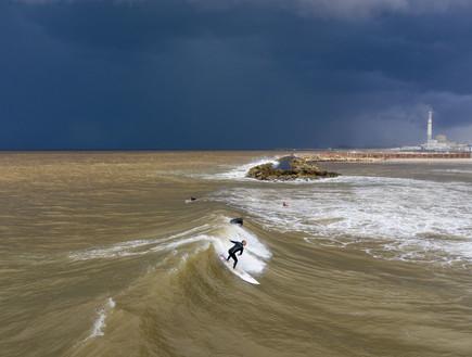 מזג אוויר סוער ברחבי הארץ: חשש משיטפונות, שמורות בדרום נסגרו