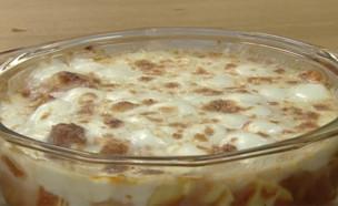 לזניה מהירה לילדים, רותי רוסו (וידאו AVI: מבשלים עם קשת – רותי רוסו)