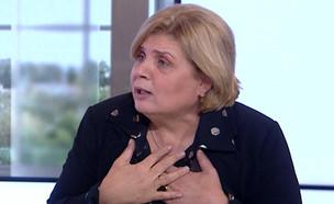 """אורנה ברביבאי מתייחסת לפרשת המימד החמישי (צילום: מתוך """"חדשות הבוקר"""" , קשת 12)"""
