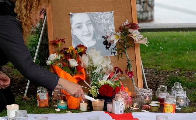 פינת זיכרון שהוקמה לגרייס מיליין (צילום: CNN)