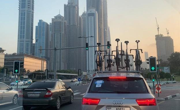 לראשונה: קבוצת רוכבי אופניים ישראלית באיחוד