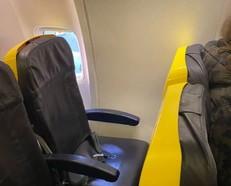מושב ללא חלון (צילום: טוויטר)