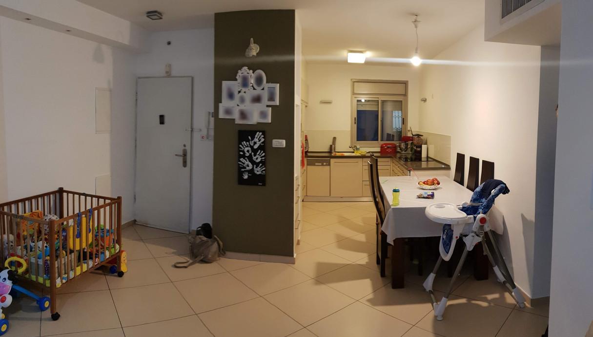 דירה במרכז, עיצוב נועה גולדמן, לפני שיפוץ - 4