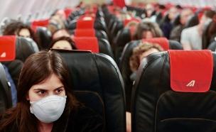 """טיסה מנתב""""ג לרומא (צילום: נתי שוחט, פלאש 90)"""