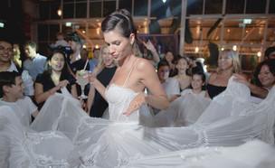 אלבום החתונה של הדר ודניס (צילום: קובי מהגר)