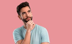 גבר חושב  (צילום: shutterstock| Asier Romero)