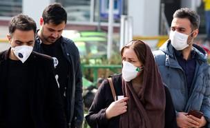 קורונה באיראן (צילום: ATTAKE NARE, AFP)