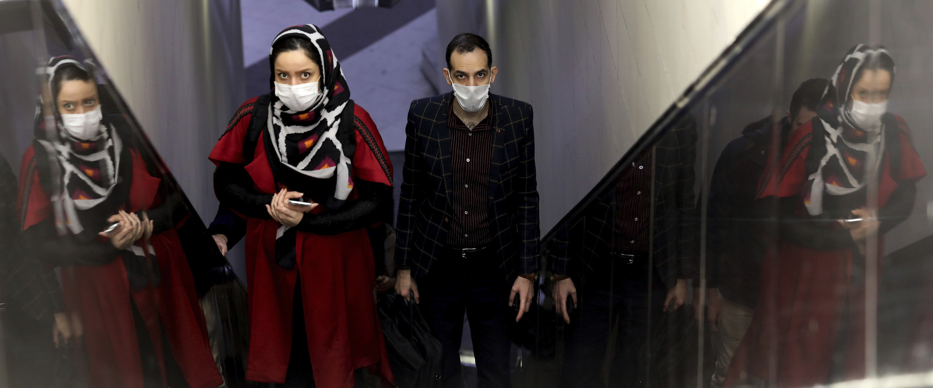 קורונה באיראן (צילום: Ebrahim Noroozi, AP)
