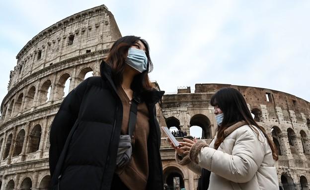 הקורונה מכה באיטליה