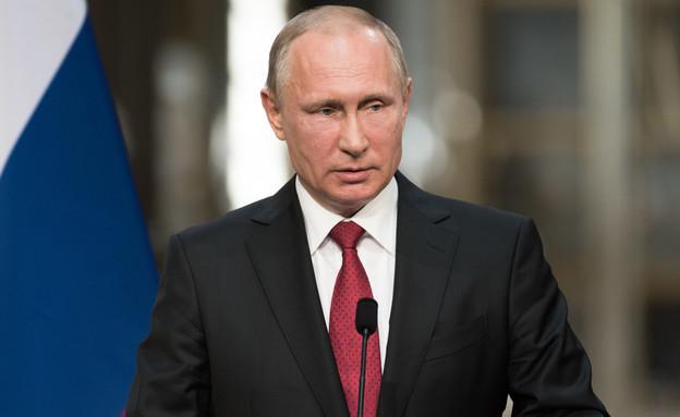 מנהיגים חזקים- פוטין (צילום: צילום מסך מתוך ווטסאפ)