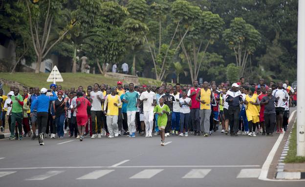 יום ללא מכוניות בקיגאלי, בירת רואנדה