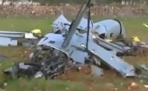 תיעוד התקרית (צילום: ALGERIA DELLYS HD@YouTube)
