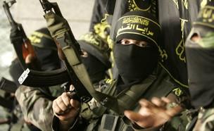 חמוש פלסטיני מארגון הג'יהאד האיסלאמי (צילום: רויטרס, רויטרס3)