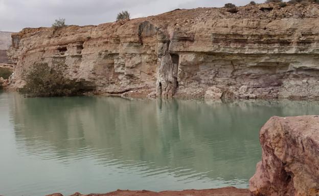 אגם במכתש רמון