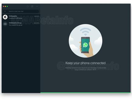 WhatsApp Dark Theme (צילום: WABetaInfo)