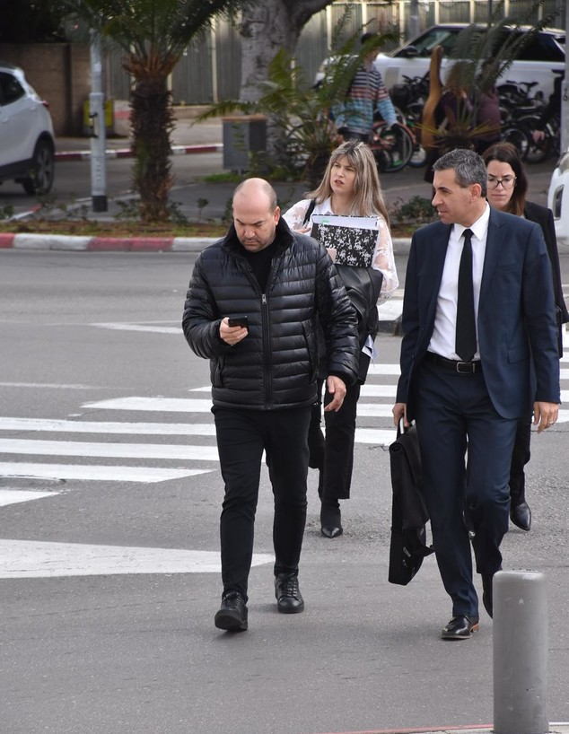 אייל ברקוביץ' בבית משפט, פברואר 2020