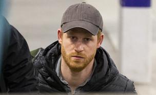 הנסיך הארי נוחת בבריטניה. פברואר 2020 (צילום: splash news)